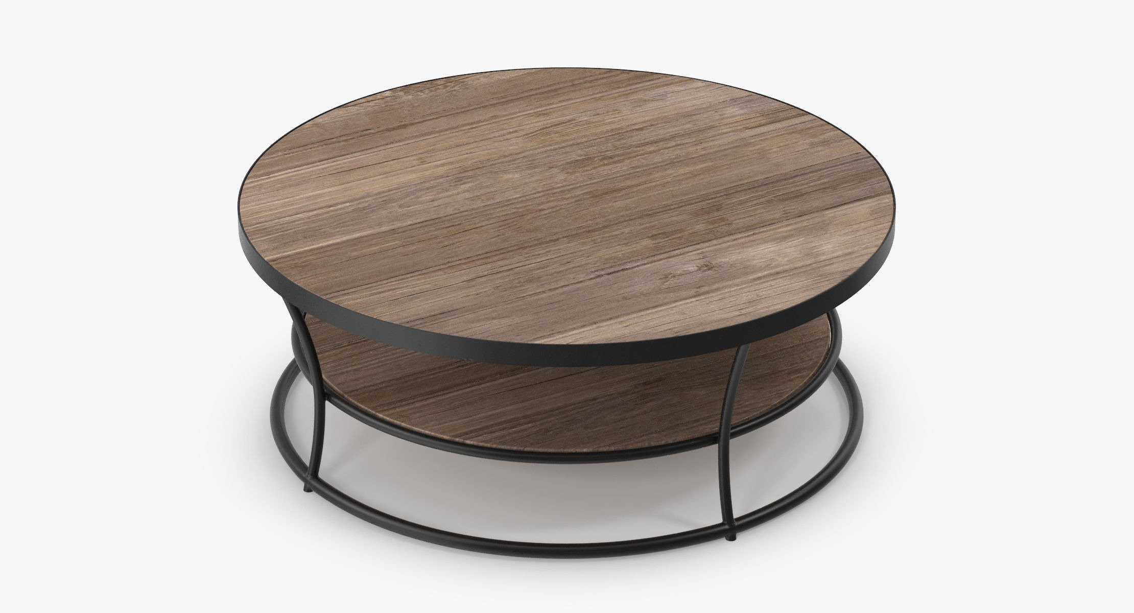 Patio Coffee Table Round 02