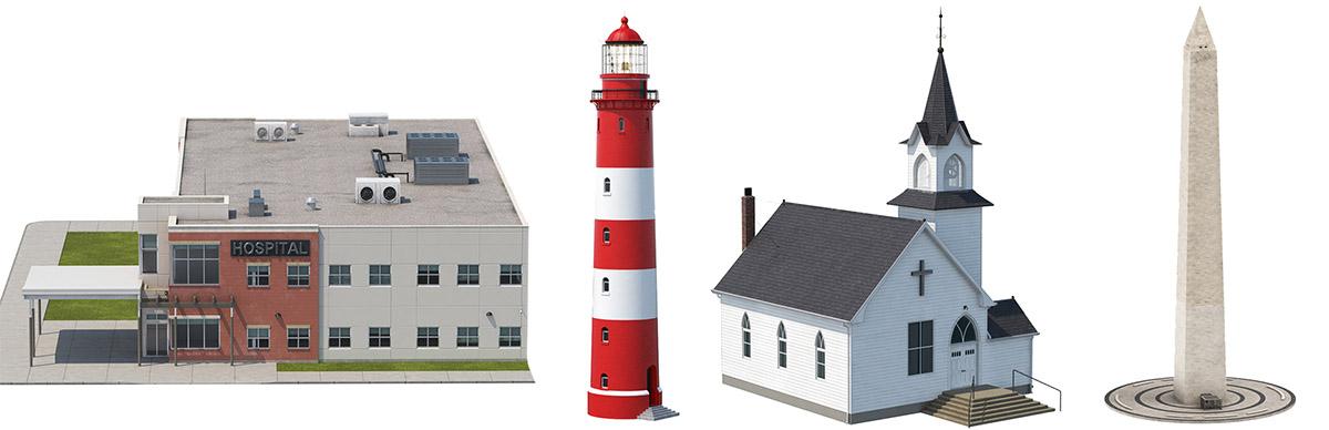 Modern Architecture 3D Models