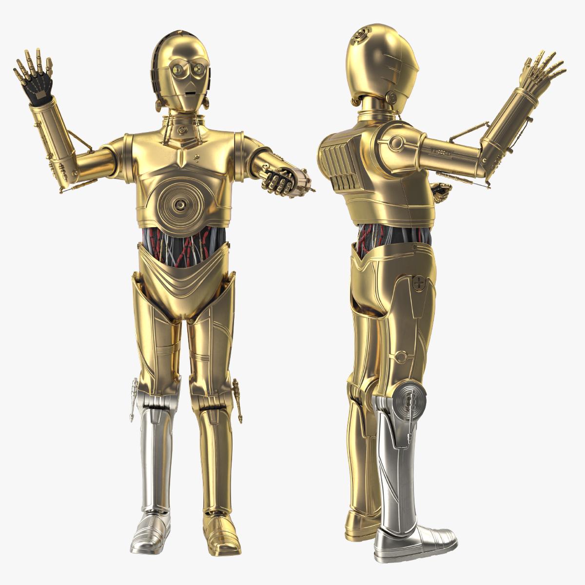 C3PO 3D Model