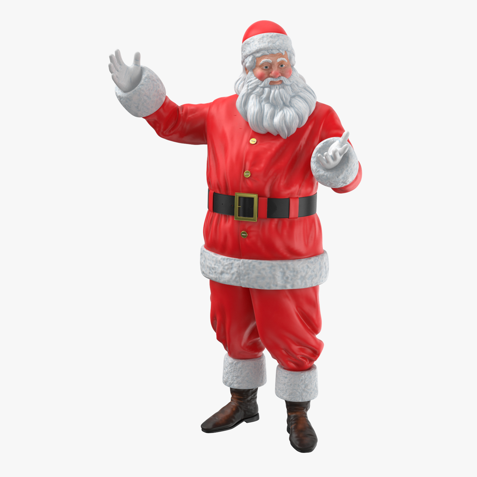 Santa Clause 3D Model