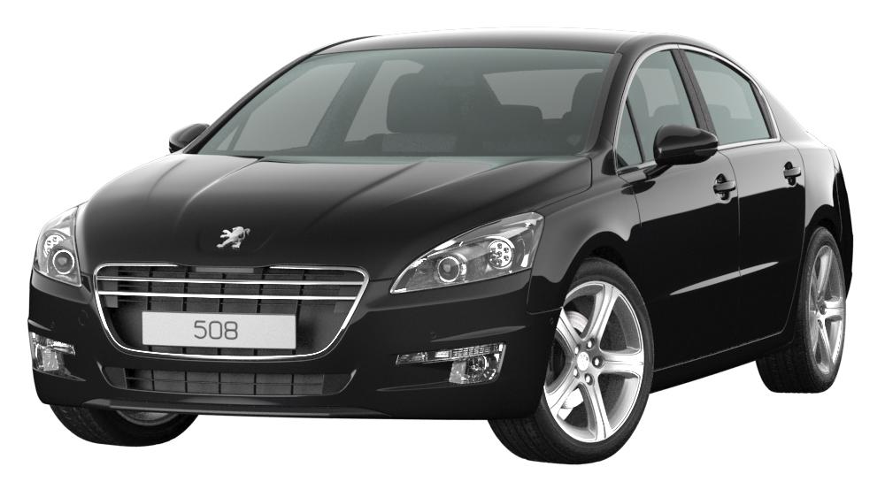 Peugeot 508 3D Model