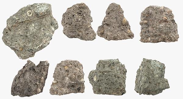 Broken Concrete Pieces 3D Models