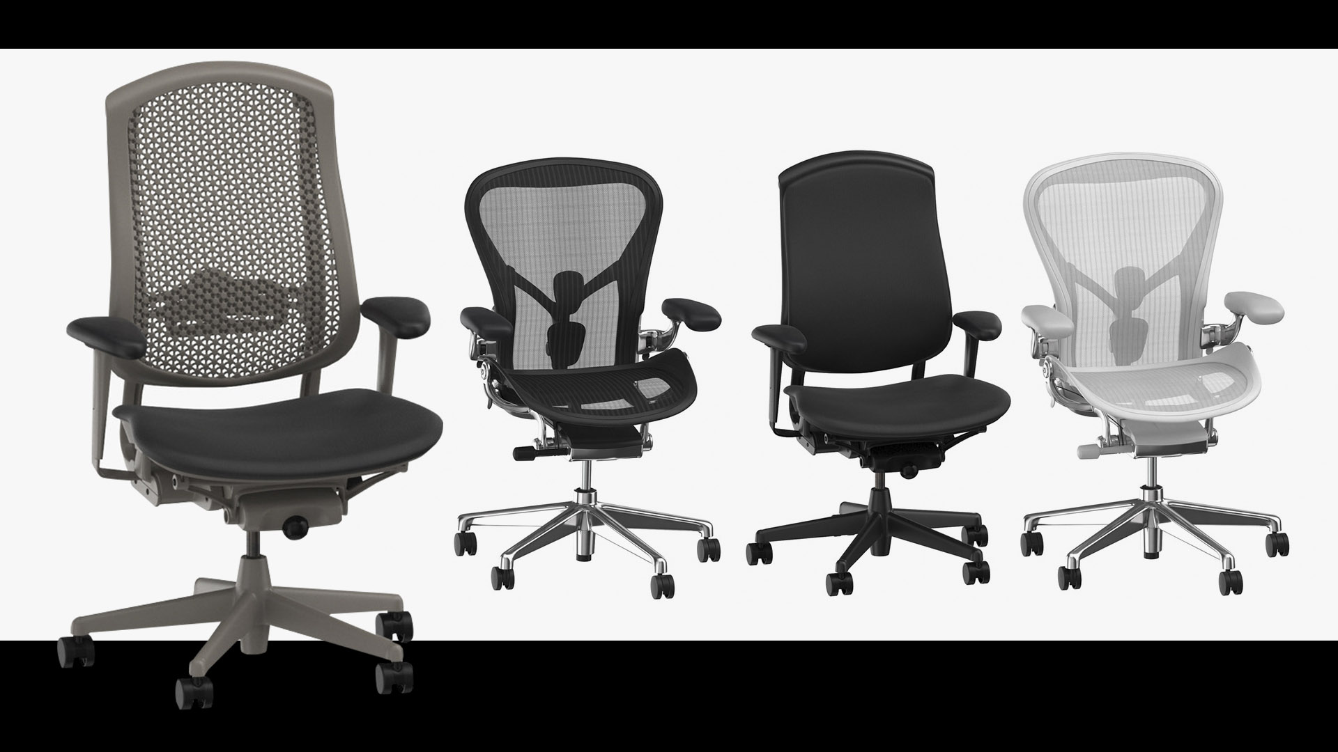 Office Chairs 3D Models
