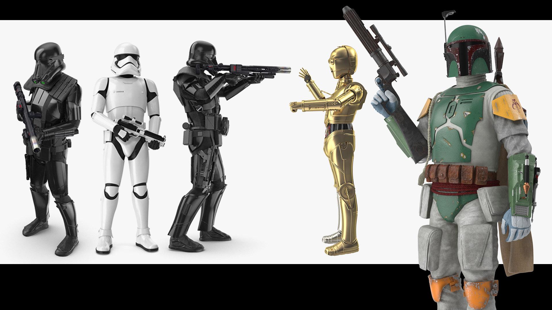 Character 3D Models