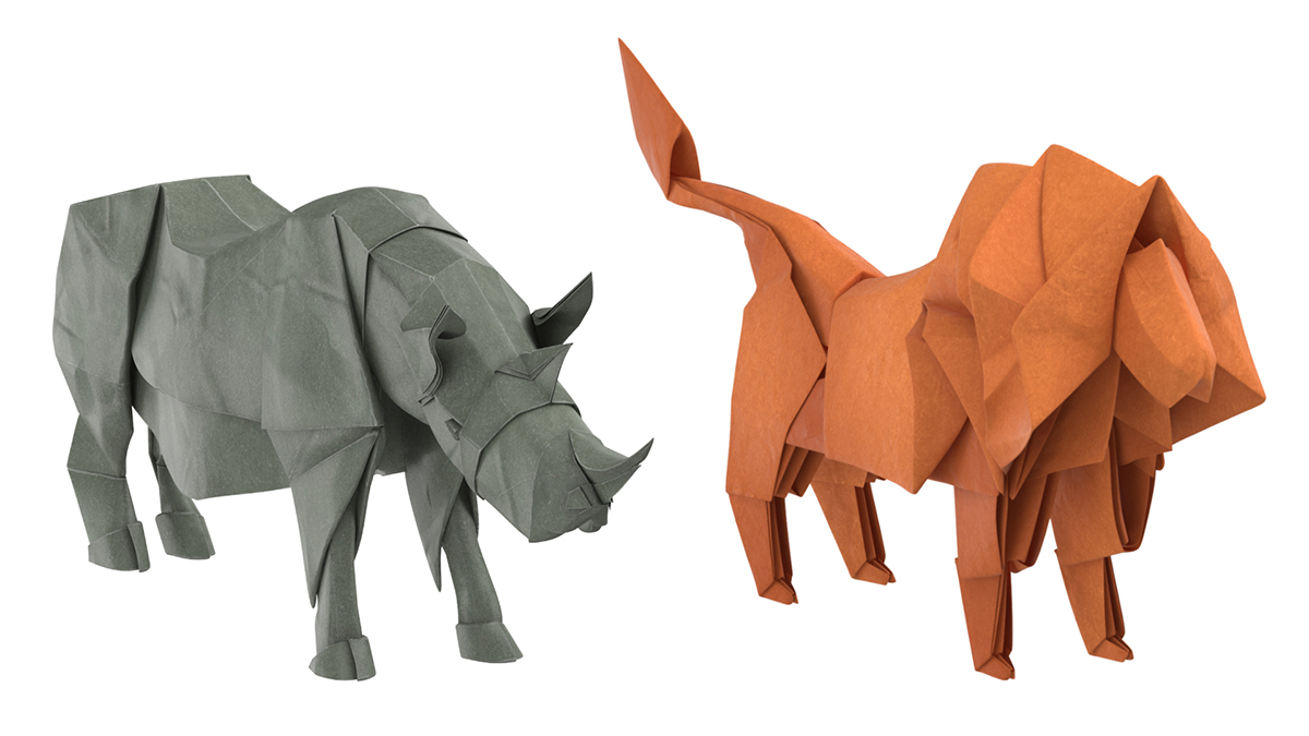 Origamy 3D Models