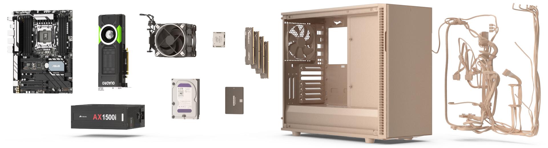 Computer Hardware 3D Models
