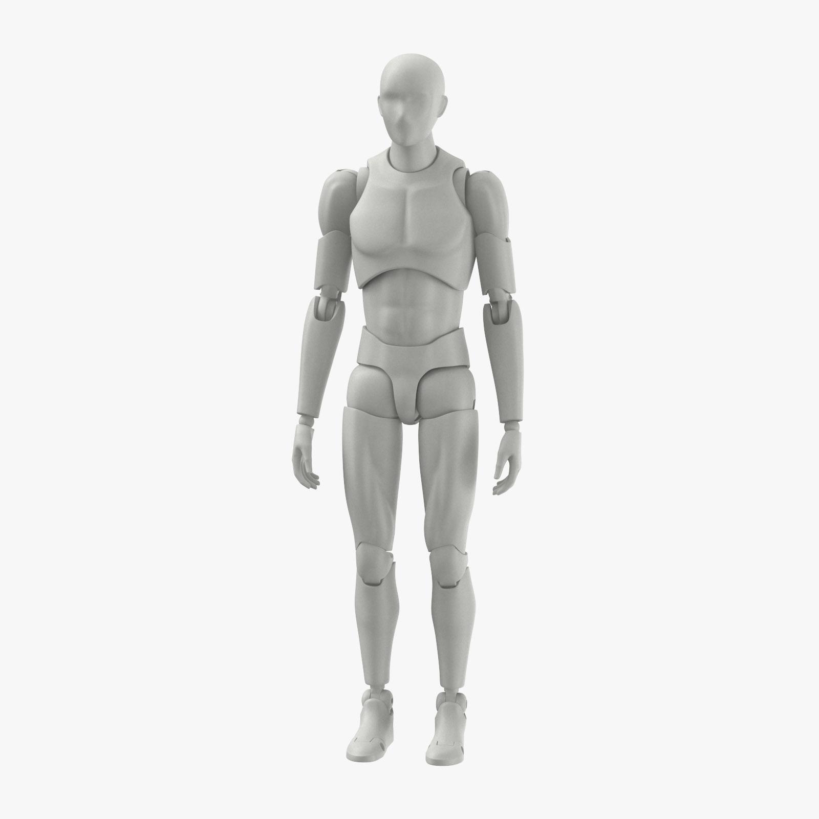 Mannequin Male 3D Model