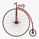 Penny Farthing Bicycle - 1