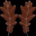 Oak Leaf 04 Brown - thumb 22
