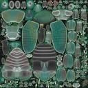 Green Scarab Beetle Walking 01 model - thumb 11