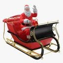 Santa and Sleigh 03 - thumb 1