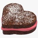 Heart Shaped Brownie - thumb 1