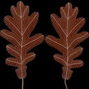 Oak Leaf 03 Brown - thumb 20
