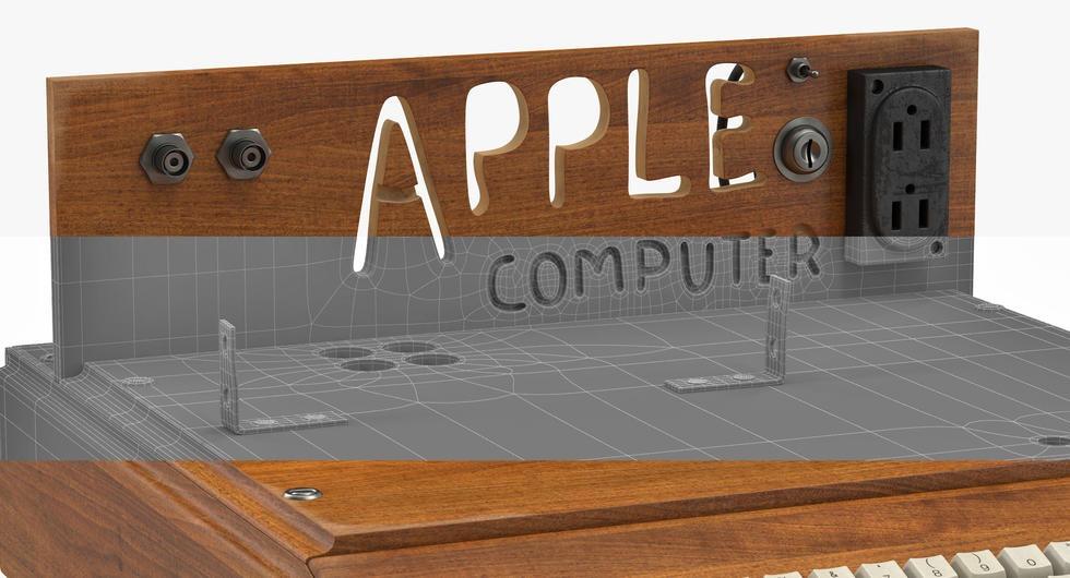Apple I Wireframe