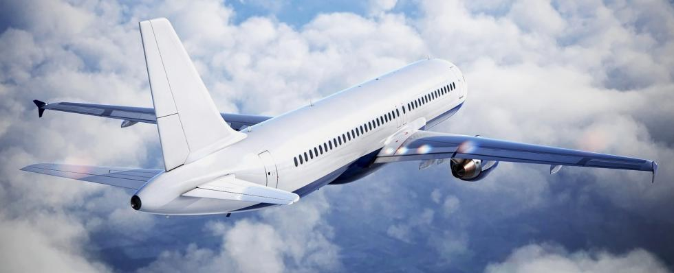 Aircraft 3D Rendering