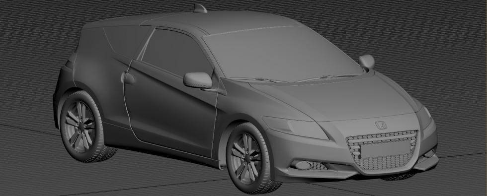 Honda CR-Z 3D Model
