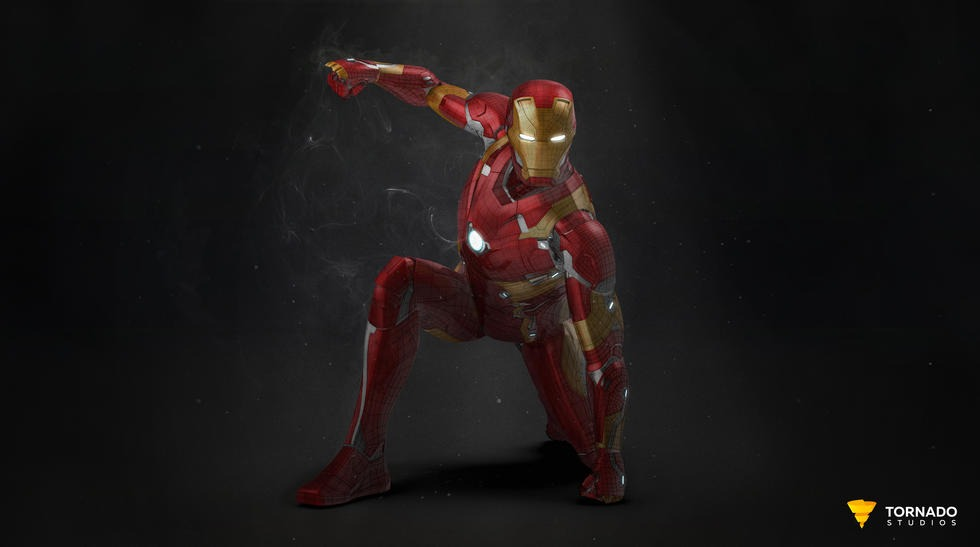 Iron Man Beauty Shot