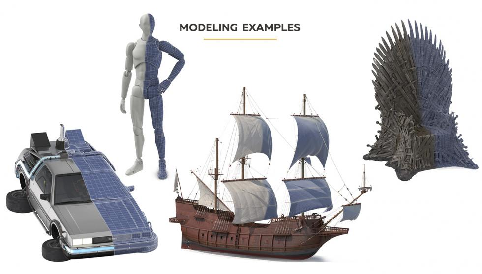3D Modeling Examples