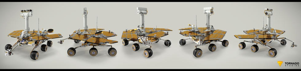 Opportunity Rover Pose