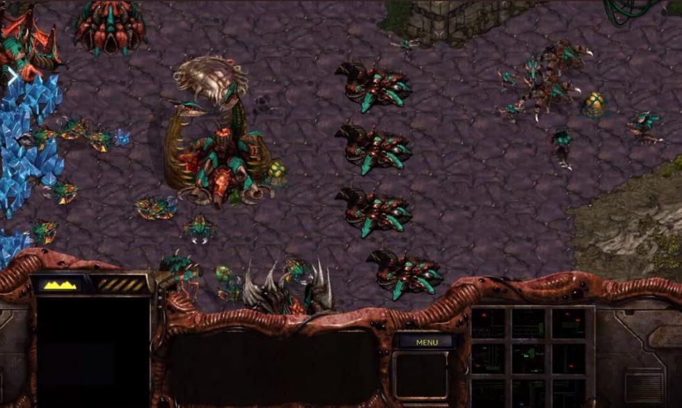 Starcraft 1 Gameplay Example