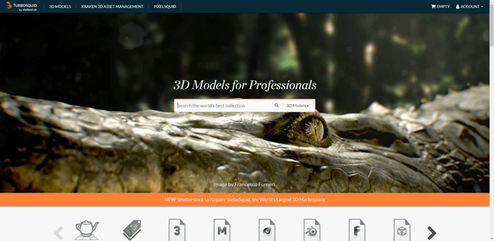 Turbosquid Home Page 3D