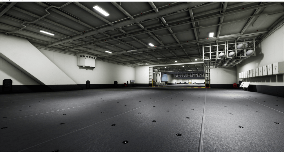 USS Saratoga VR Museum 3D