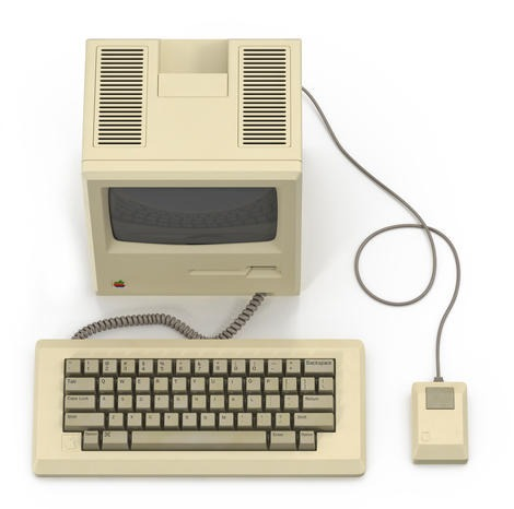 Apple Macintosh 128k Top
