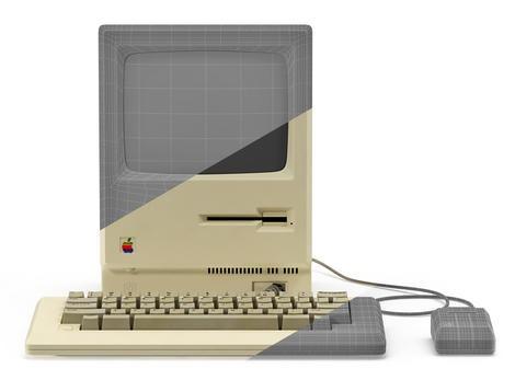 Apple Macintosh 128k Wireframe