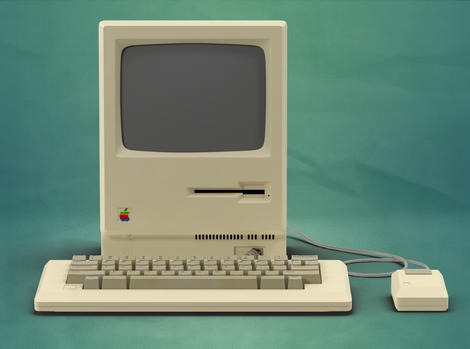 Apple Macintosh 128k Front