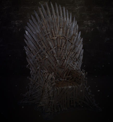 Iron Throne Beauty Render Dark