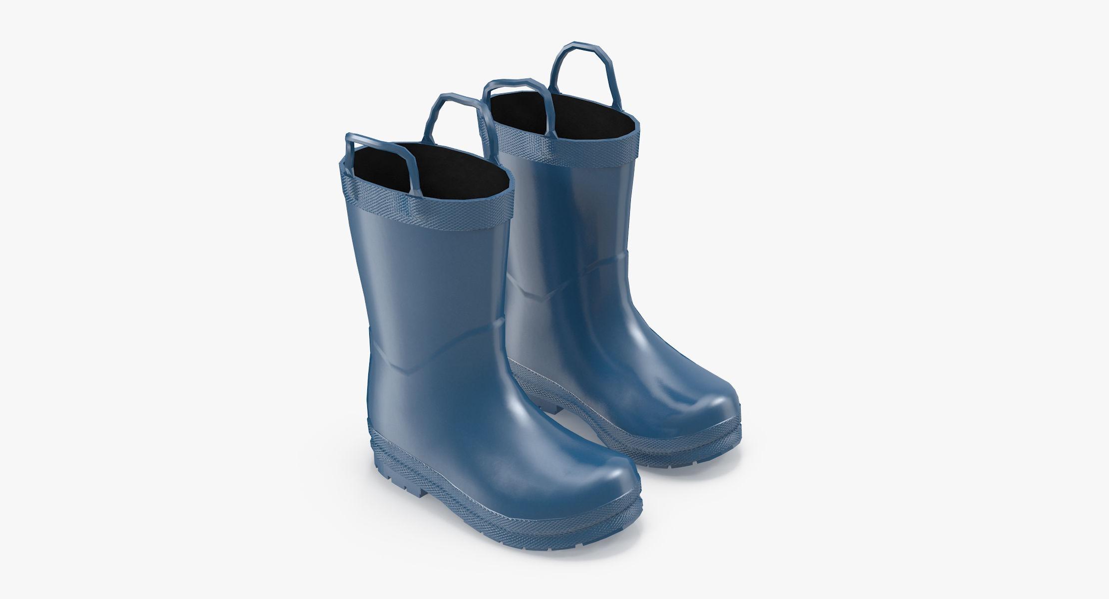 Kids Rain Boots - reel 1
