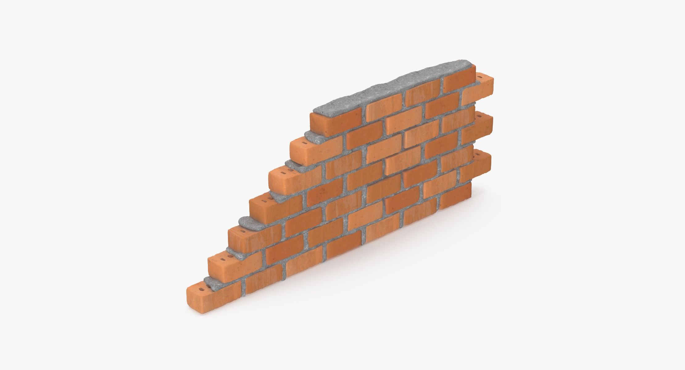 Brick Wall Section 01 - reel 1