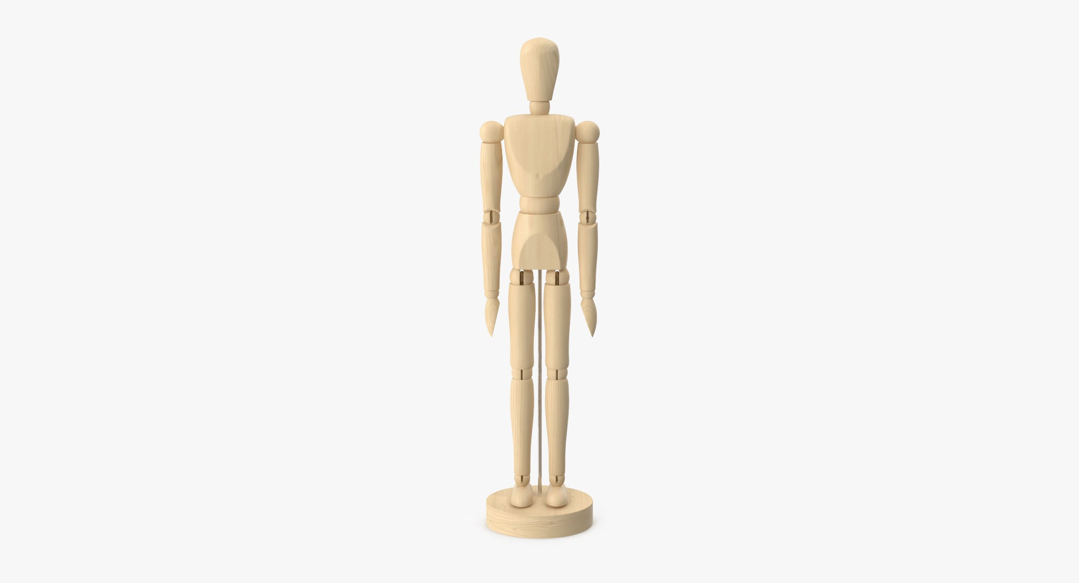 Wooden Mannequin Rigged - reel 1