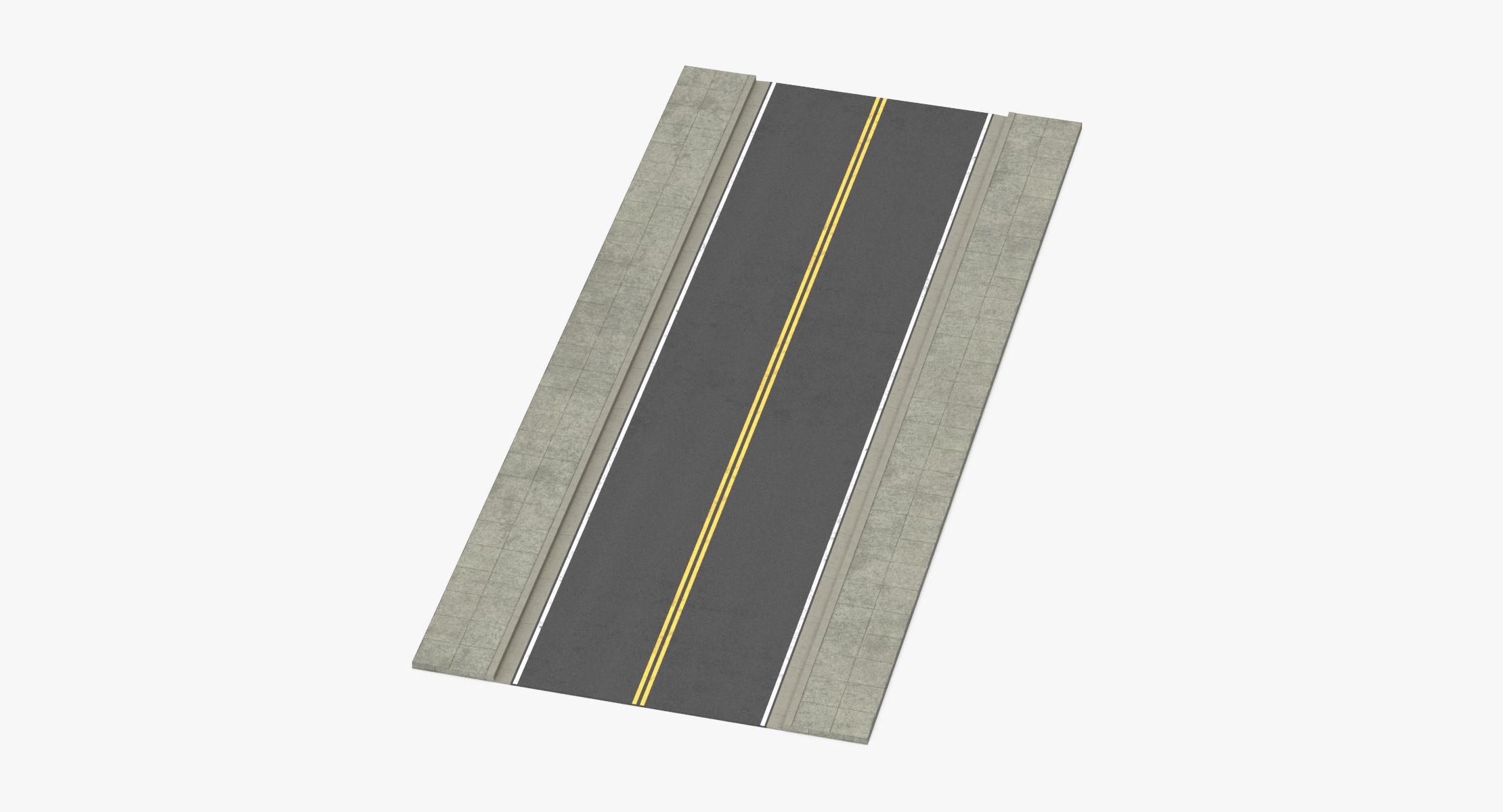 2 Lane Street - Straight - reel 1