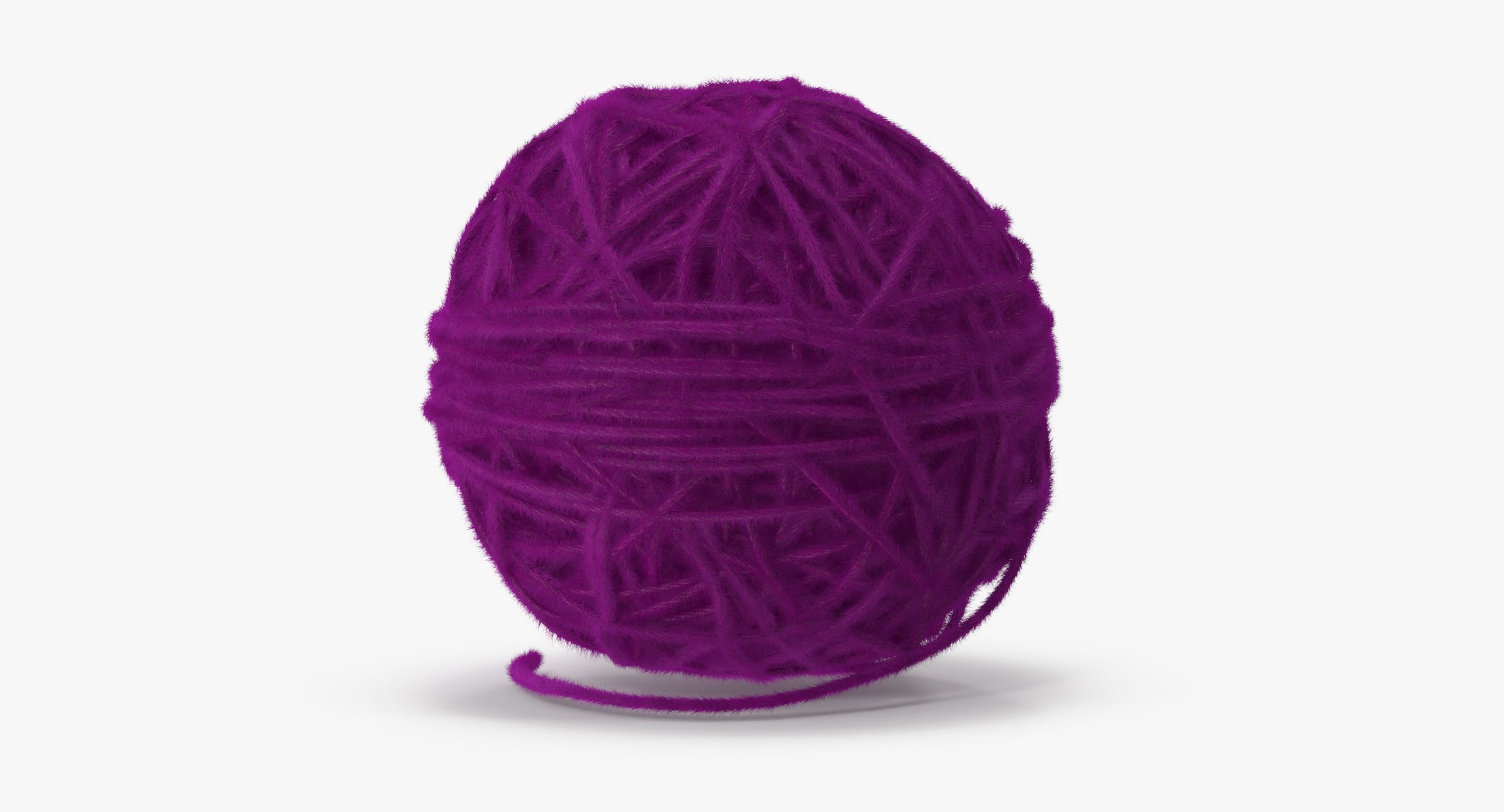 Ball of Yarn Purple - reel 1