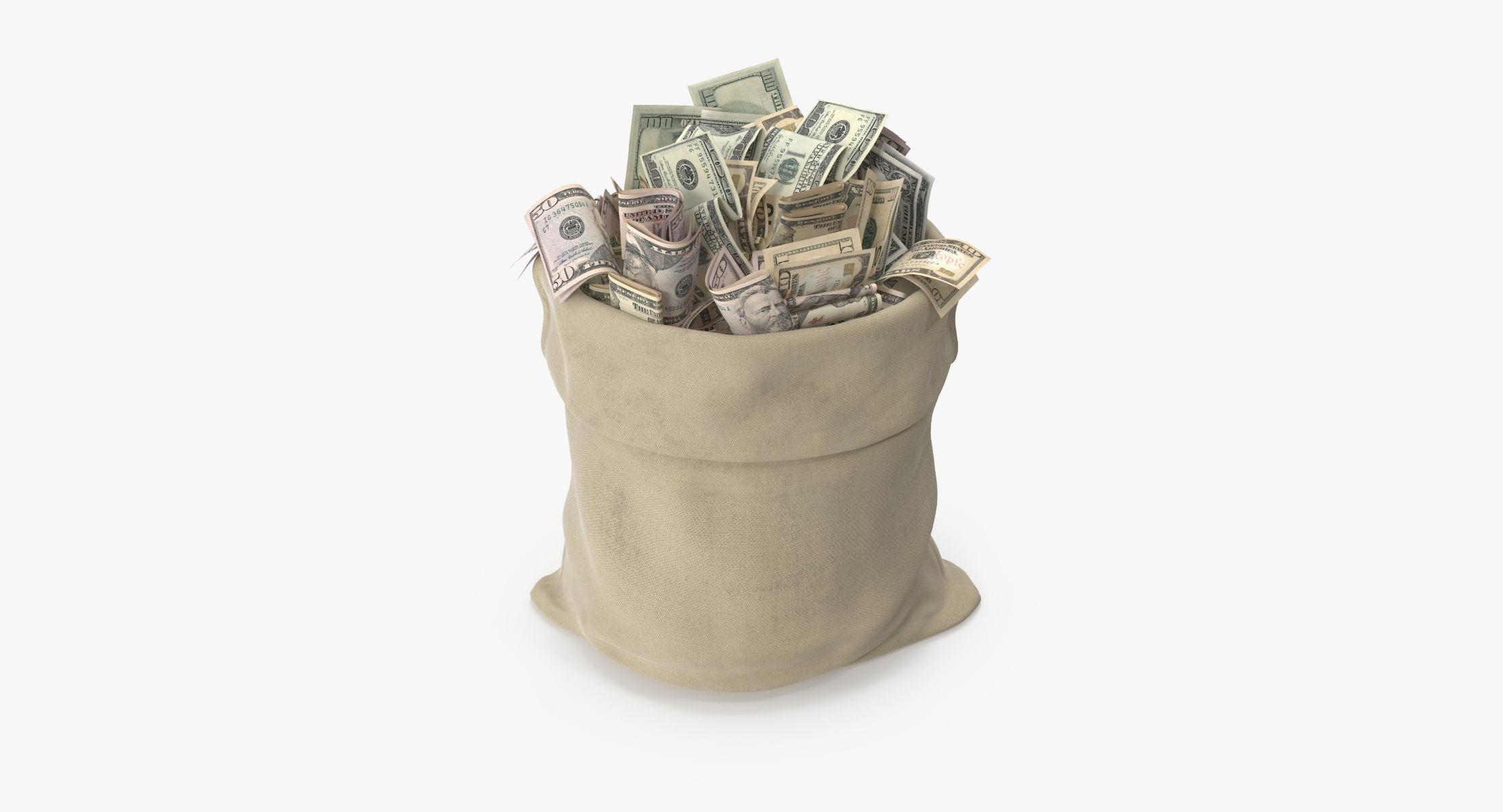 Open Money Bag 01 - reel 1