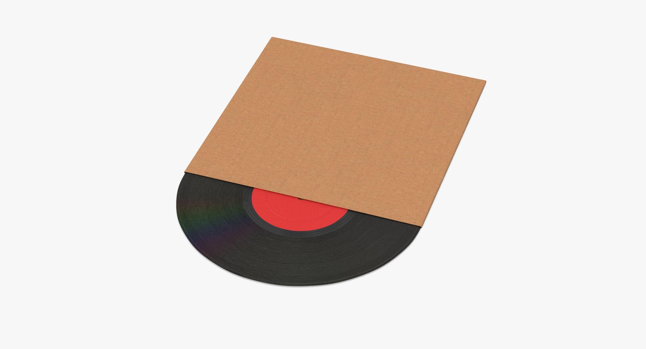 Vinyl LP 01 Cardboard Sleeve - reel 1
