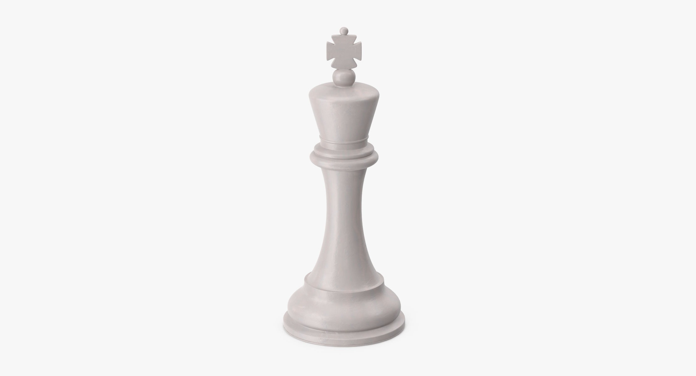 Chess Pieces - King White - reel 1