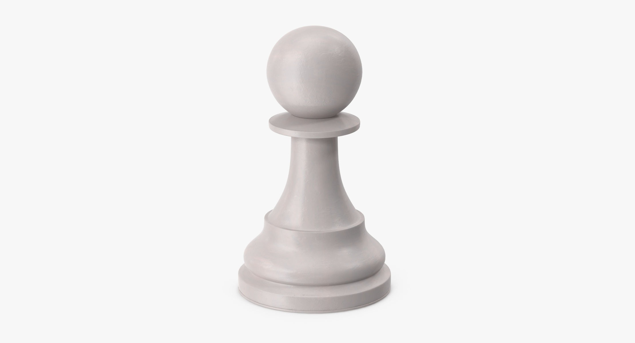 Chess Pieces - Pawn White - reel 1