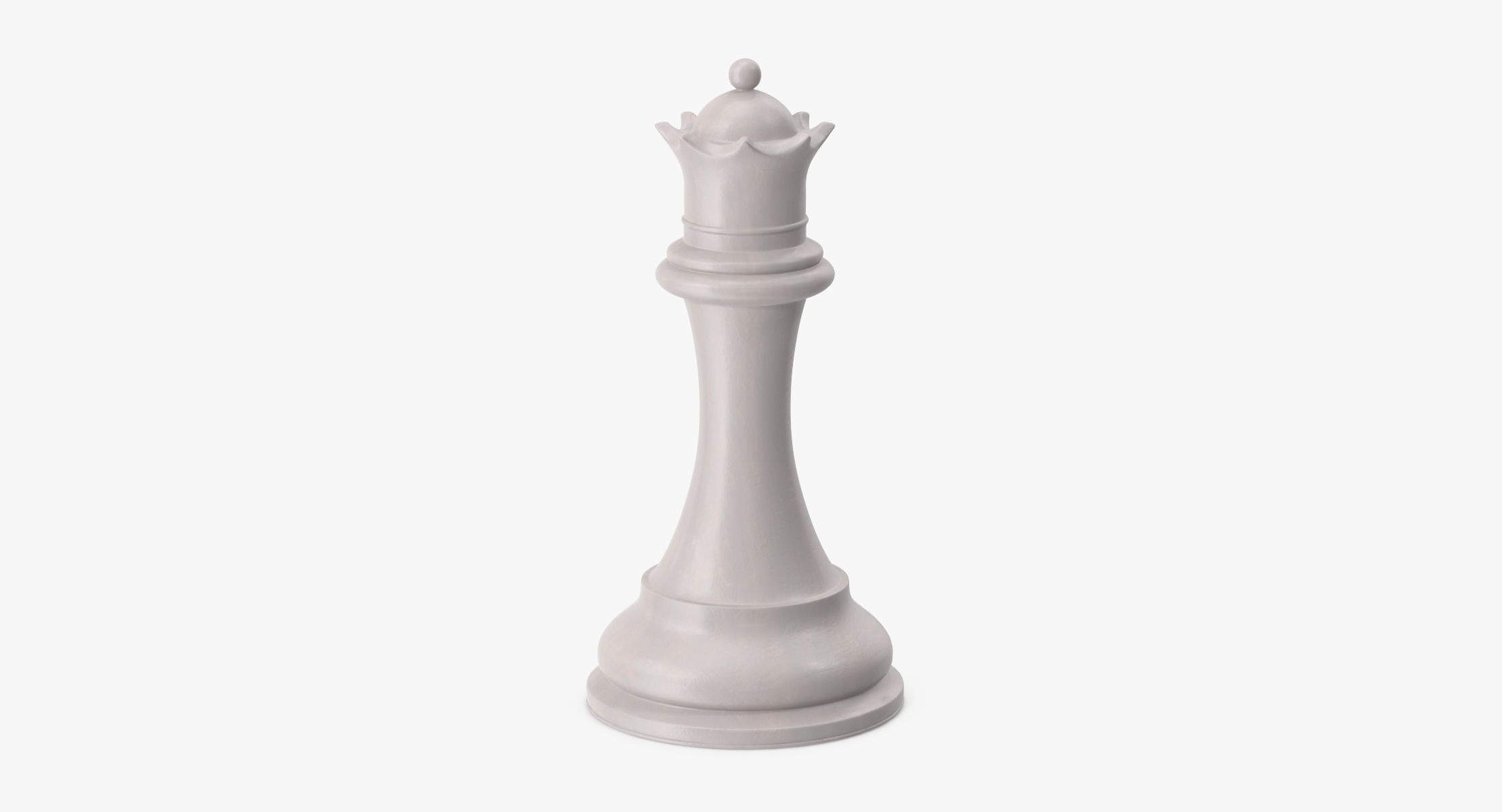 Chess Pieces - Queen White - reel 1