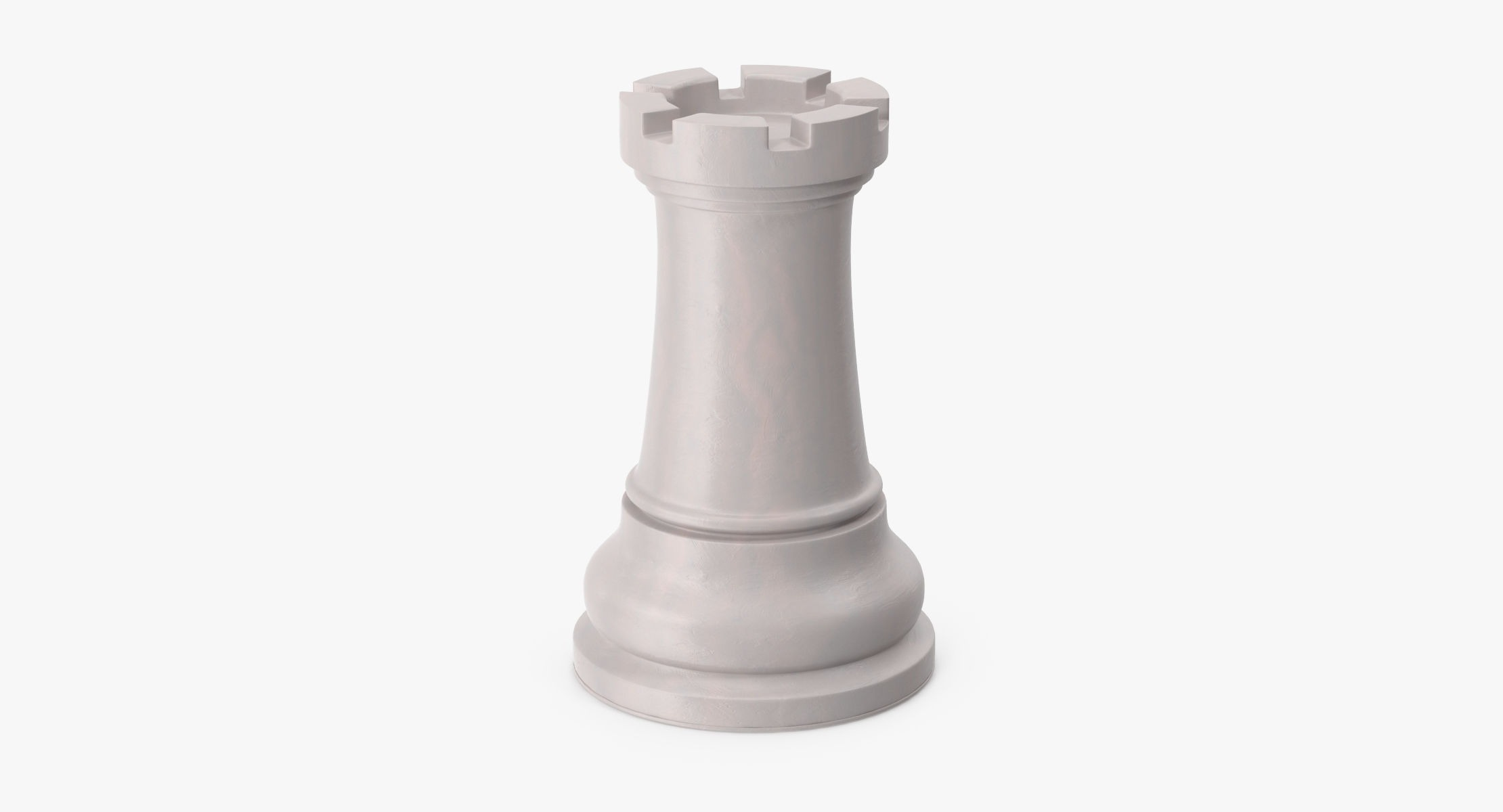 Chess Pieces - Rook White - reel 1