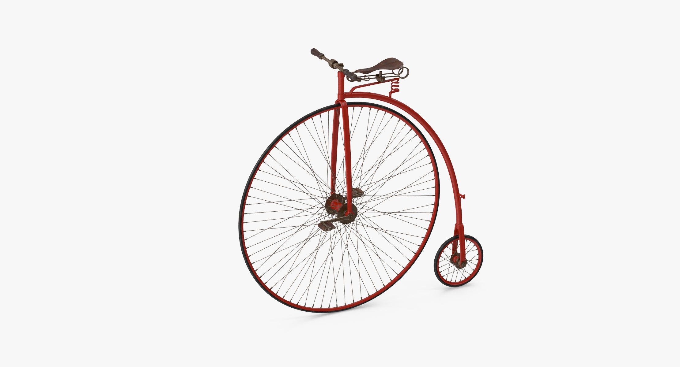 Penny Farthing Bicycle - reel 1