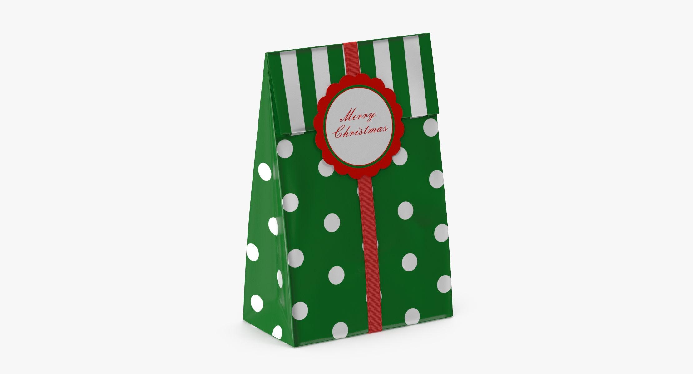 Christmas Bag 02 - Green - reel 1