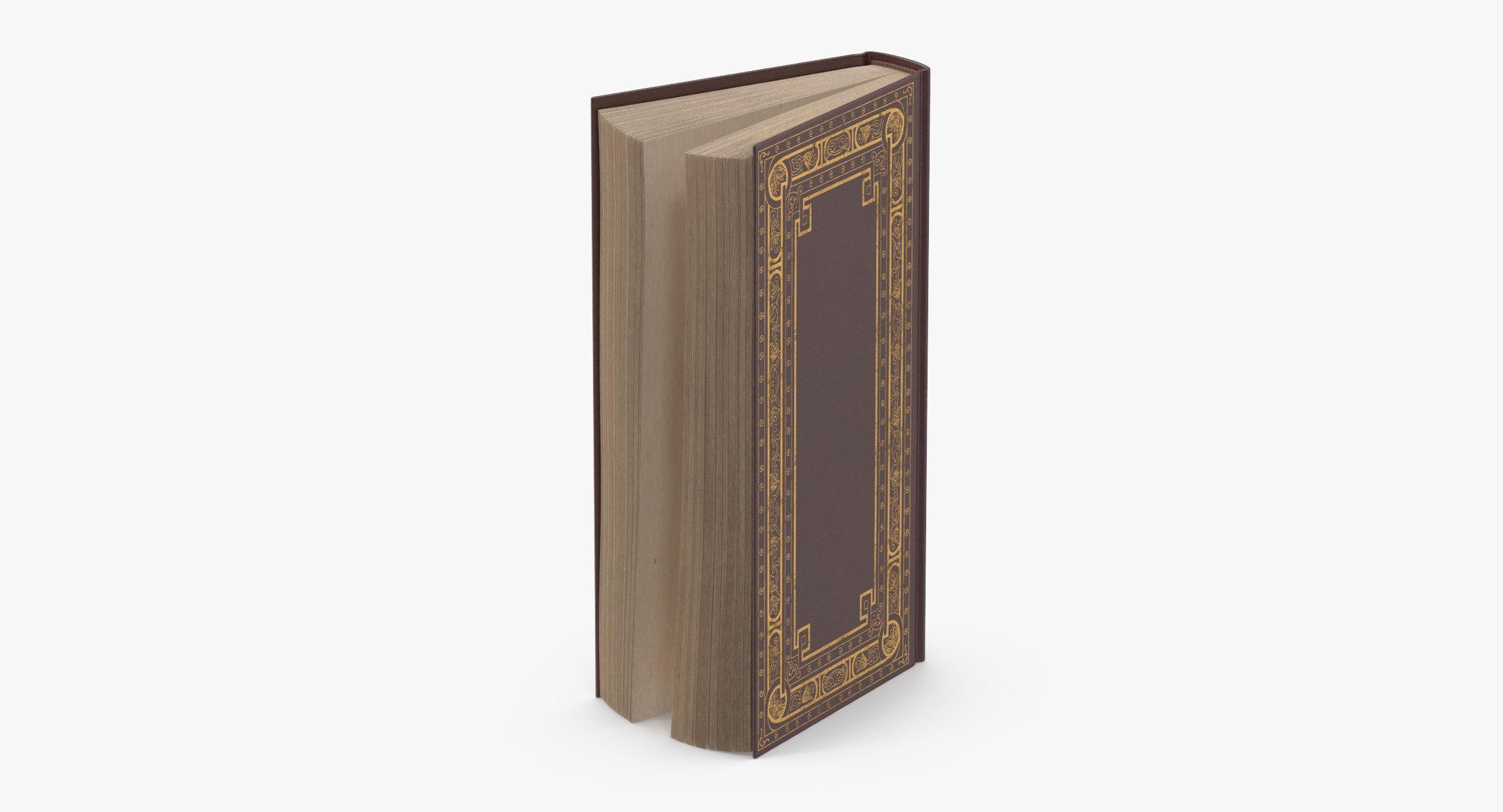 Classic Book 02 Standing Open - reel 1