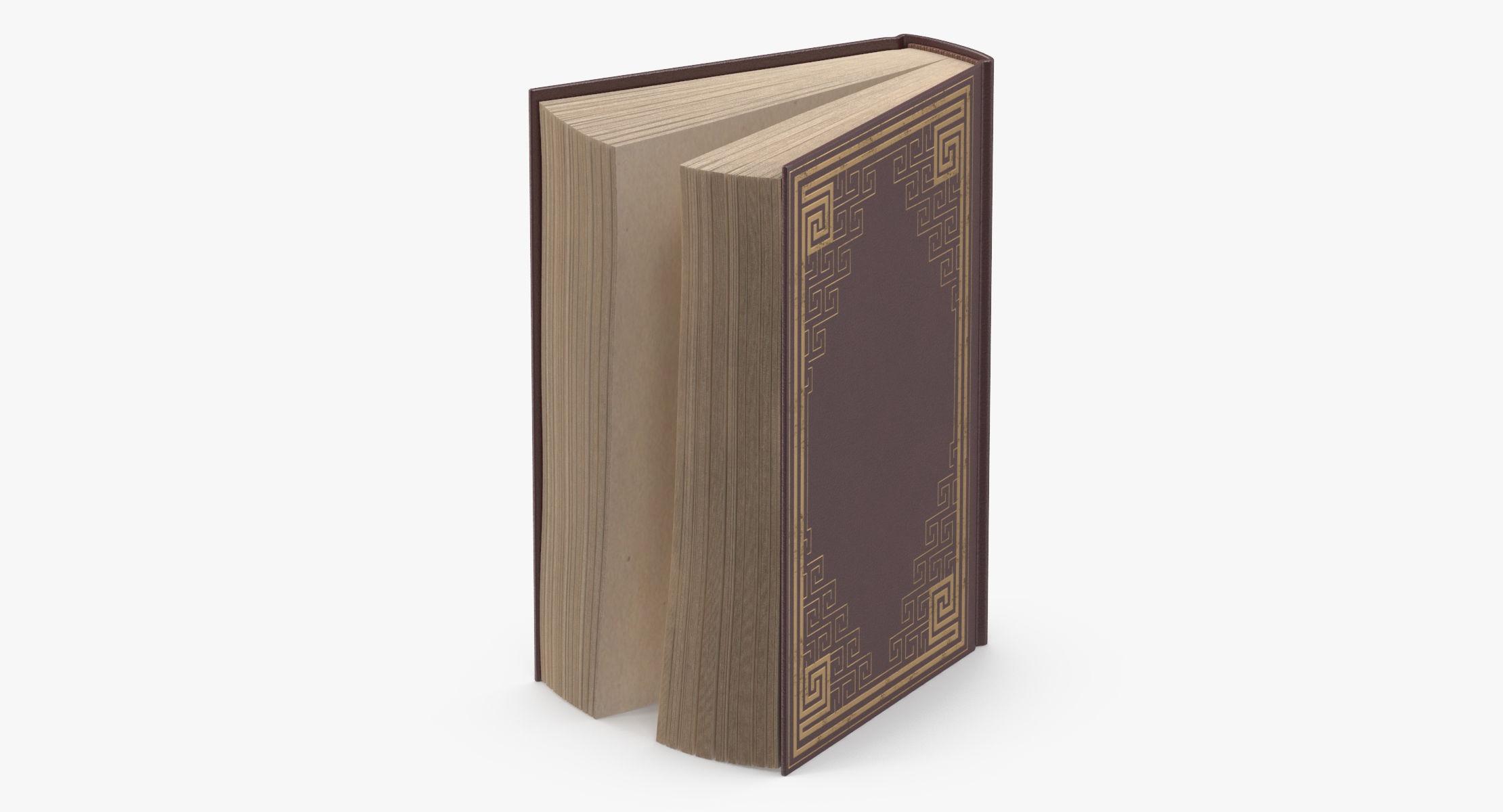 Classic Book 03 Standing Open - reel 1