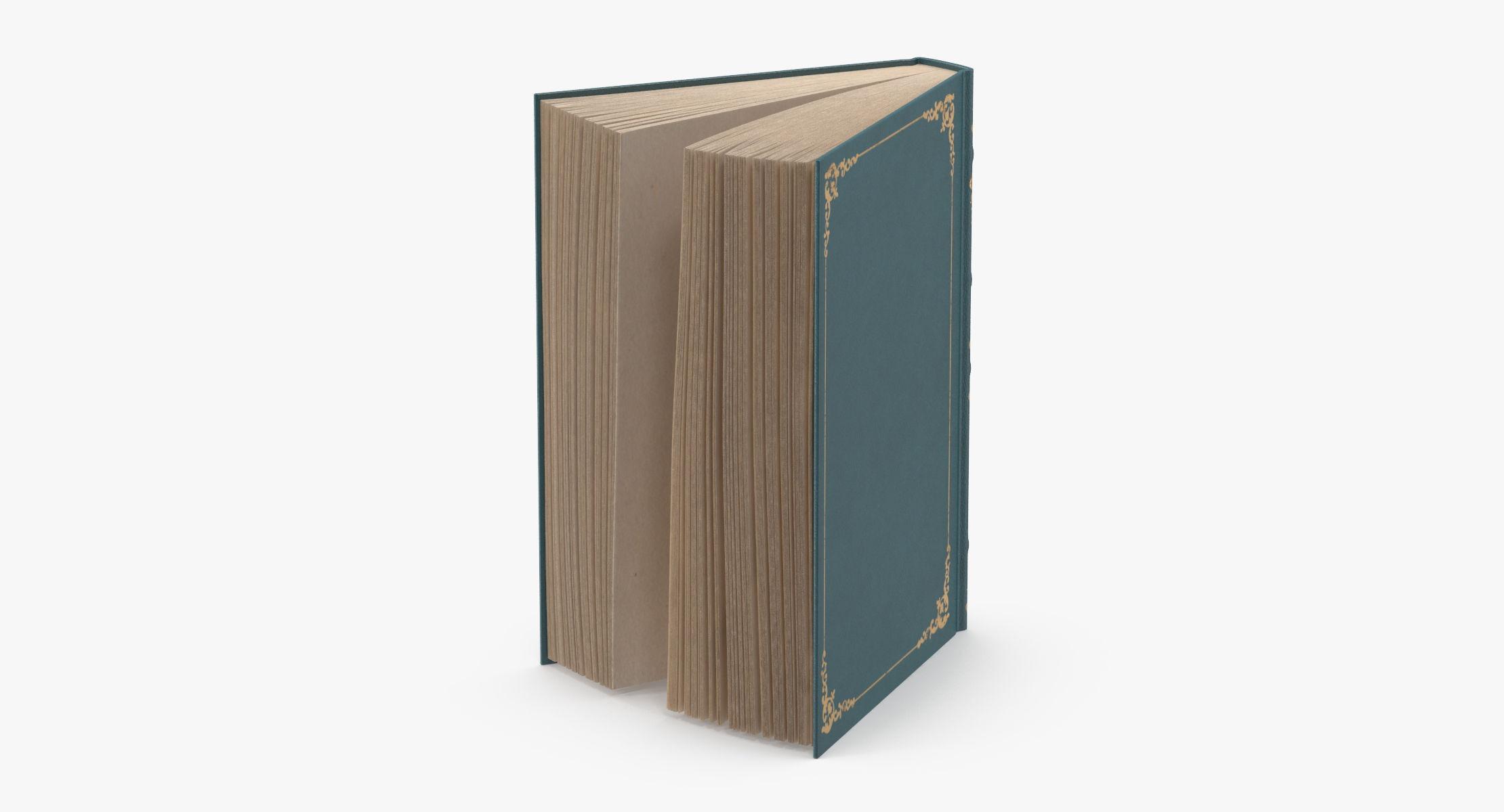 Classic Book 04 Standing Open - reel 1