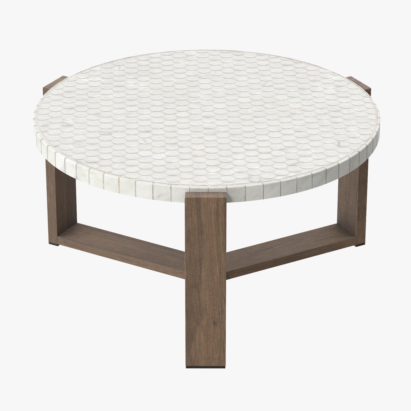 - Patio Coffee Table Round 03
