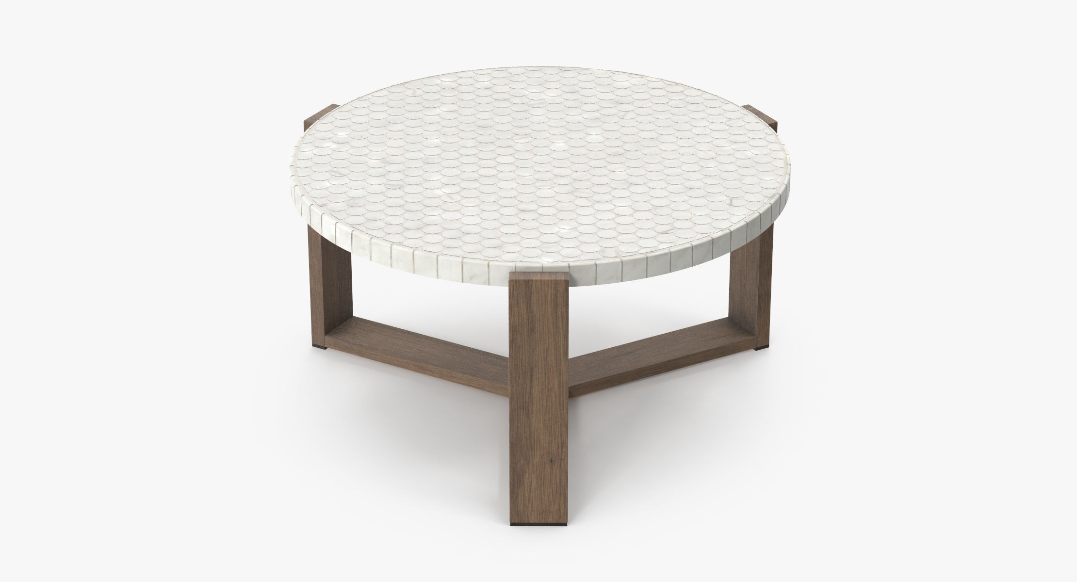 Patio Coffee Table Round 03 - reel 1