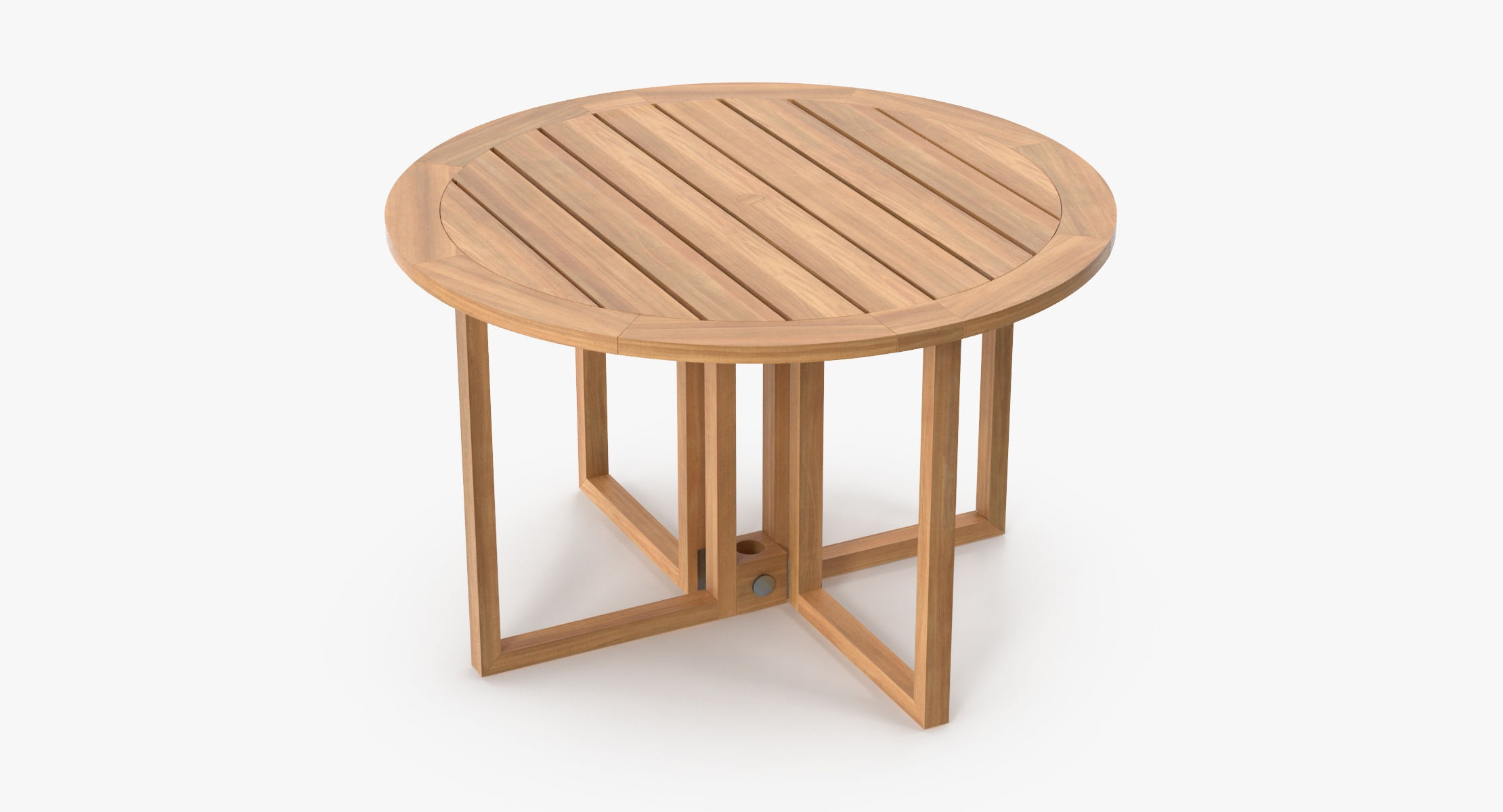 Patio dining table round (seats 6) 02 - reel 1