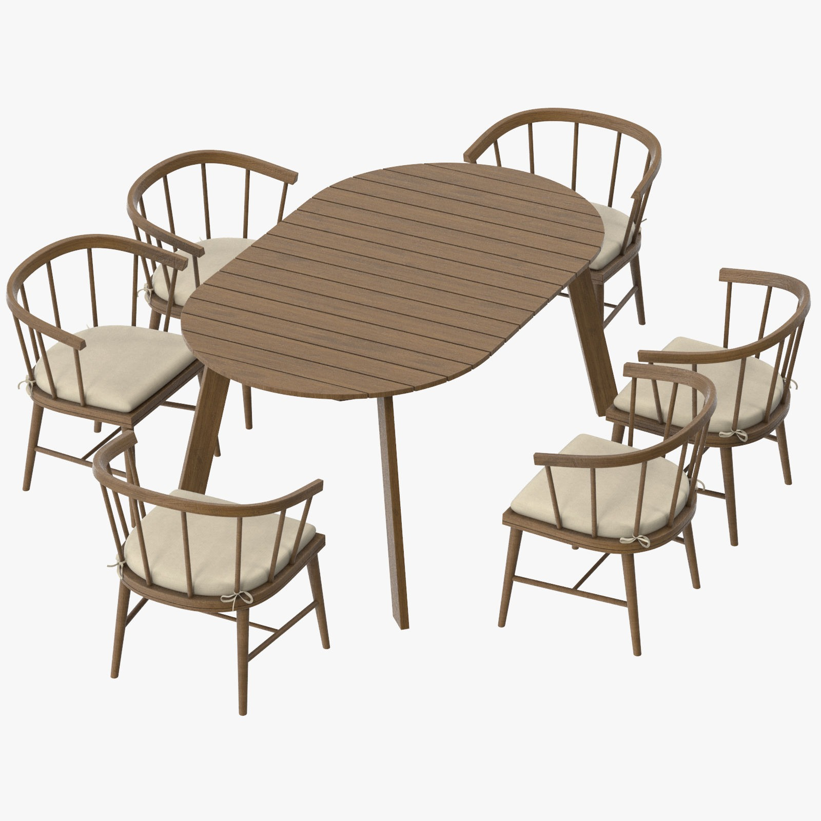 Outstanding Patio Dinning Table Round And 6 Chairs Bralicious Painted Fabric Chair Ideas Braliciousco